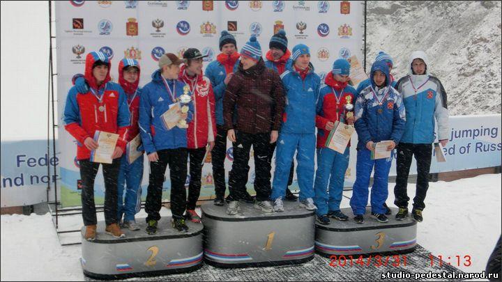 Пьедестал СПК-1 на снегу